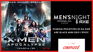 "Men's night ""X-Men Apocalypse"" 3D"