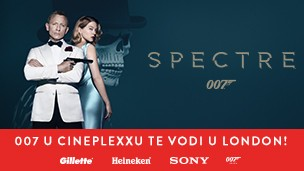 007 u Cineplexxu te vodi u London!